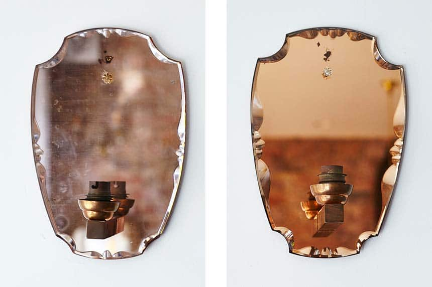 Product image for 1950s Mirrored Wall Lights