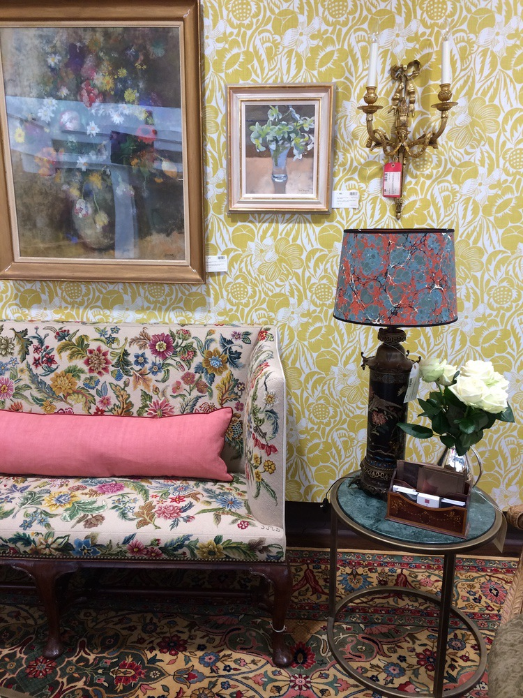 A Room set at Christies for House & Garden interior design