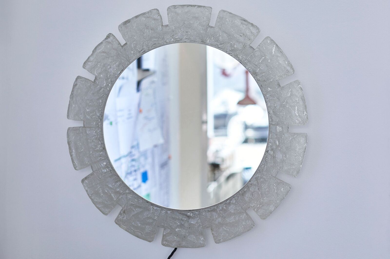 Product image for 1970s Illuminated mirror